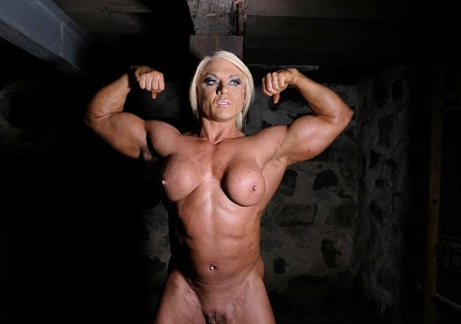muscled women in bondage