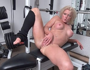 I know what you're thinking, does he mean Bound For Your Pleasure? After you watch this video you'll know WHY it's bound for HER pleasure. Simply said, Mandy loves being tied up and restrained. It makes her mature pussy all wet and she can't wait to shove her silver vibrator deep inside of herself.