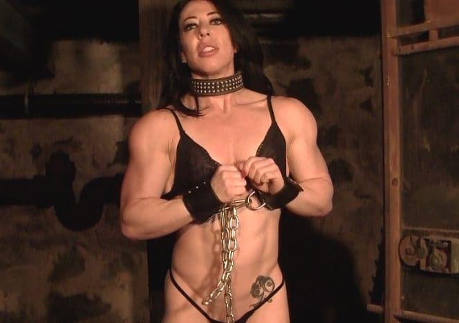 Muscle bondage female
