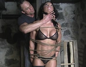 muscle girl bondage